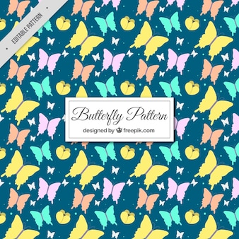 Papillons décoratifs motif