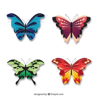 Papillons jolie élégantes