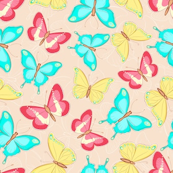 Papillons mignons