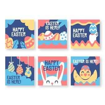 Pâques est ici instagram post collection