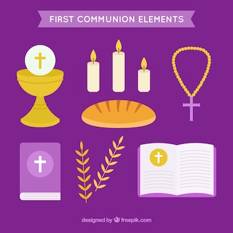 Paquet d'articles de première communion