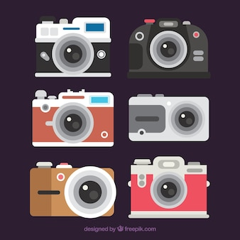Paquet de base de caméras conçues à plat