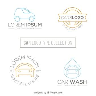 Paquet de beaux logos de voiture