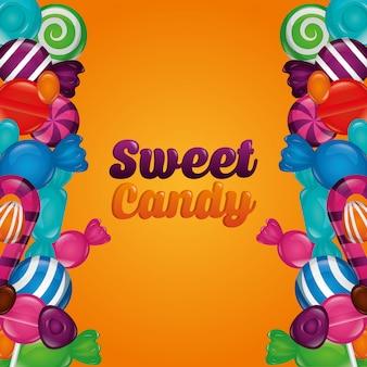 Paquet de bonbons sucrés