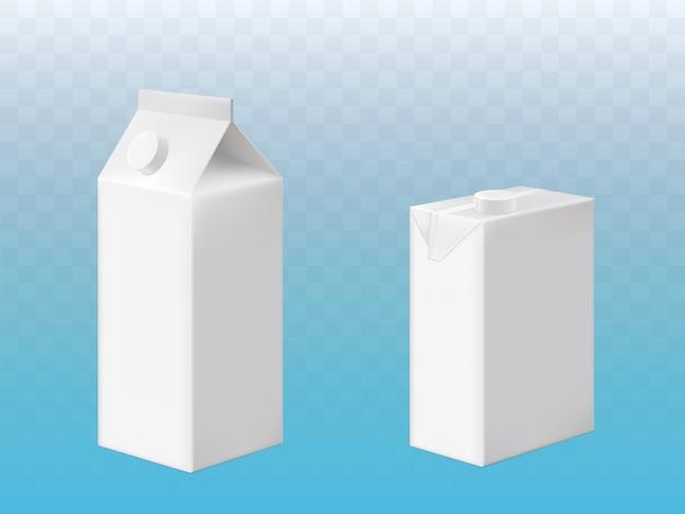 Paquet de carton brique de boisson