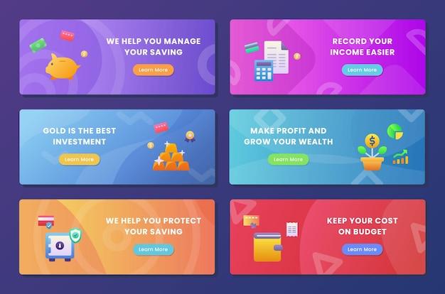 Paquet de collecte de l'ensemble d'investissement financier