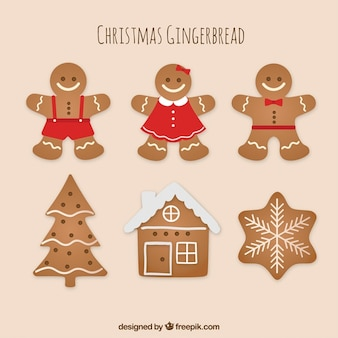 Paquet de délicieux biscuits au gingembre