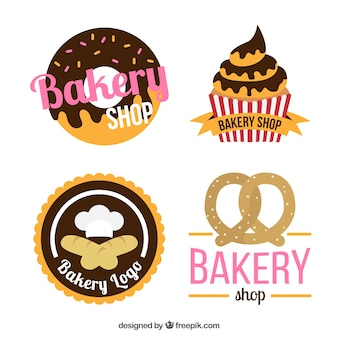 Paquet de desserts badges