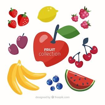 Paquet de fruits savoureux