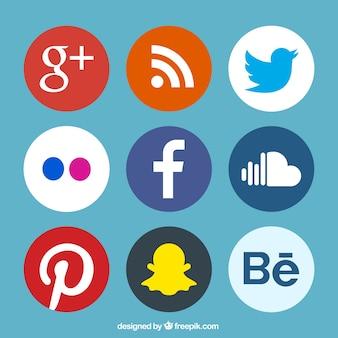 Paquet de logos sociale