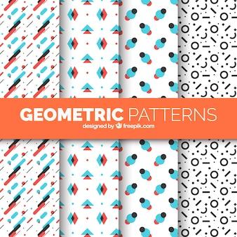 Paquet de motifs géométriques modernes