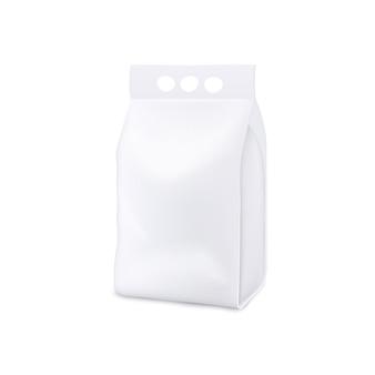 Paquet de poche de détergent à lessive debout