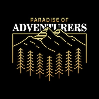 Paradis des aventuriers