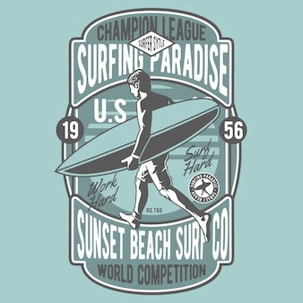 Paradis du surf