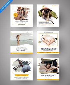 Parallax Photography Social Media Post pour le marketing numérique