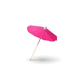 Parapluie cocktail isolé