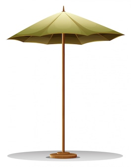 Un parapluie de table