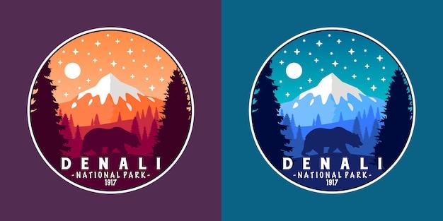 Parc national de denali sticker