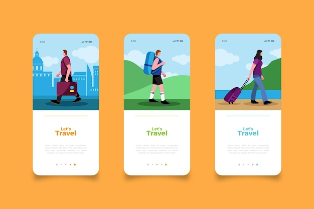 Parcourez les écrans des applications mobiles du monde