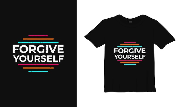 Pardonnez-vous la conception de t-shirt de typographie