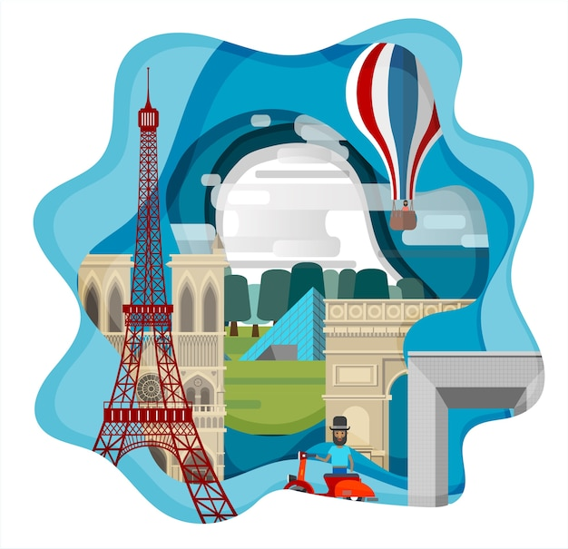Paris infographique