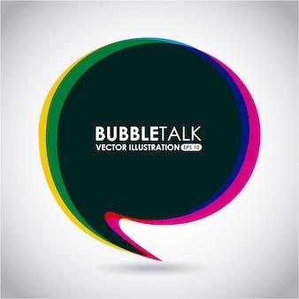 Parler de bulle