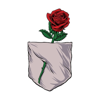 Parodie drôle de poche rose