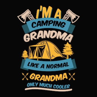 Paroles de camping et citations.