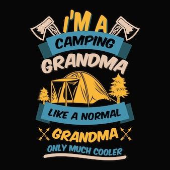 Paroles de camping et citations.