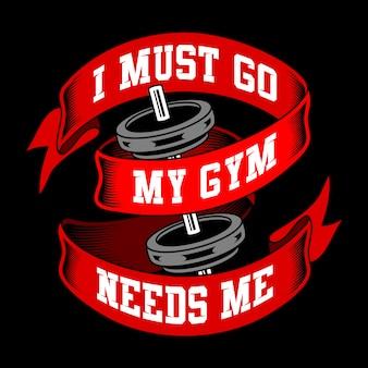 Paroles de gym et citations
