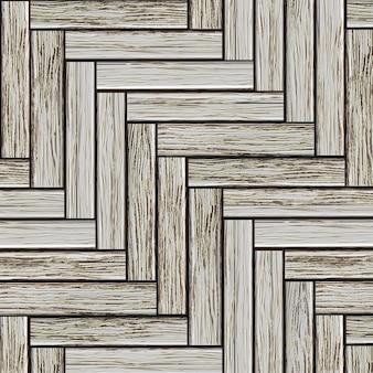 Parquet en bois gris