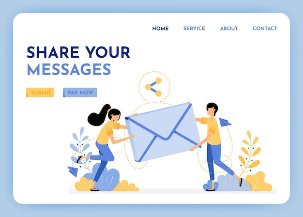 Partage et envoi d'e-mails