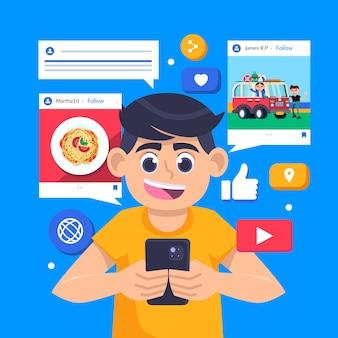 Partager du contenu sur les réseaux sociaux