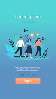Partager des informations sur les références sur les réseaux sociaux et gagner de l'argent