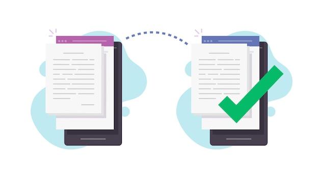 Partagez des fichiers sans fil entre deux téléphones portables