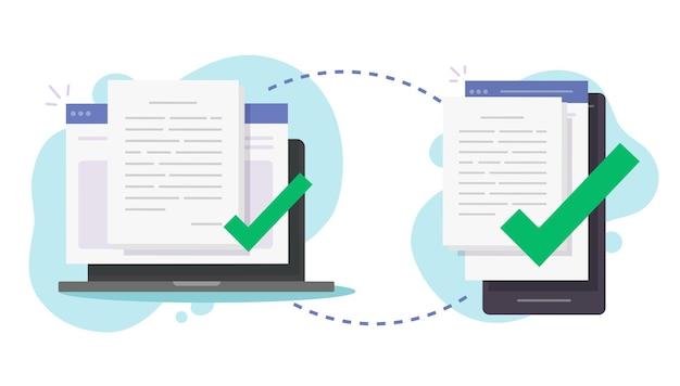 Partagez des fichiers sans fil entre un ordinateur et un téléphone portable