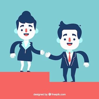 Les partenaires commerciaux aident