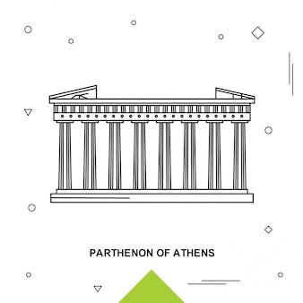 Parthenon d'athènes