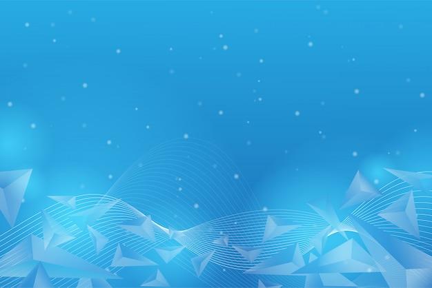 Particules chaotiques et polygones volant dans l'espace