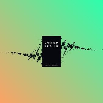 Particules minimes vecteur fond