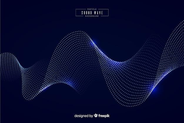 Particules sonores onde de fond