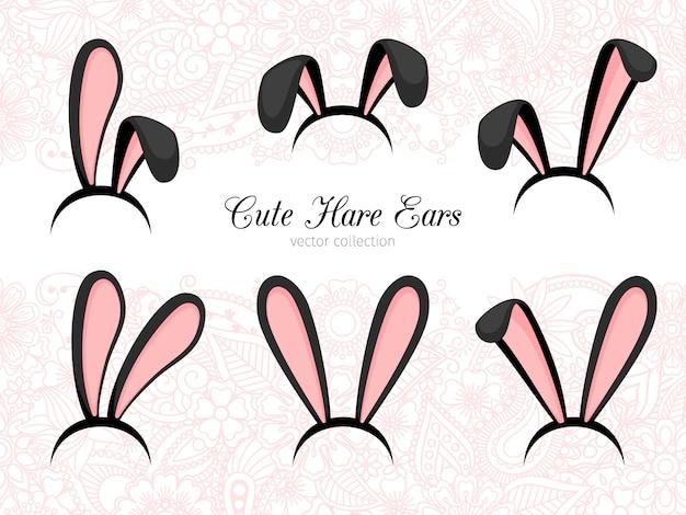 Partie de costume oreilles de lièvre
