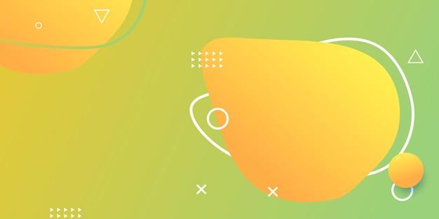 Partie d'écran de site web horizontale créative pour le développement de projets de conception de sites web réactifs. maquette de mise en page de bannière de motif géométrique abstrait. modèle d'illustration vectorielle de bloc de page de destination d'entreprise