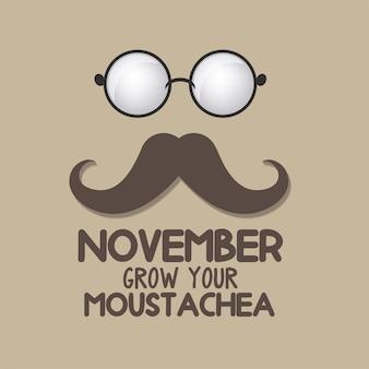 Pas de mois de sensibilisation au rasage pour la bannière du cancer de la prostate.