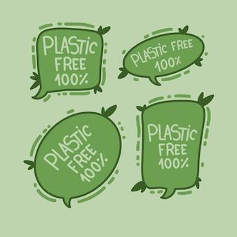 Pas de plastique