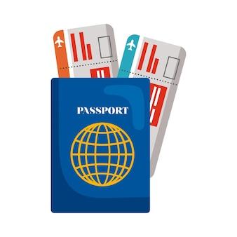Passeport et billets