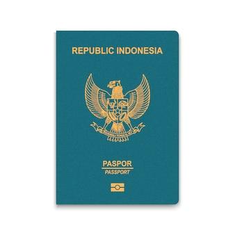 Passeport d'indonésie