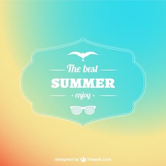 Pastel sur fond d'été résumé