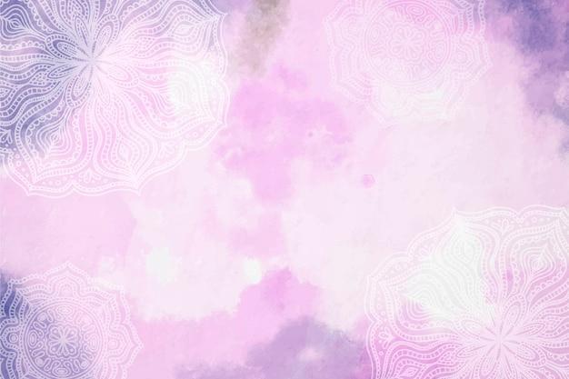 Pastel en poudre avec fond d'éléments dessinés à la main