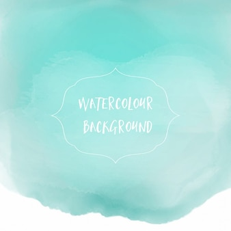 Pastel vert lavage de fond d'aquarelle